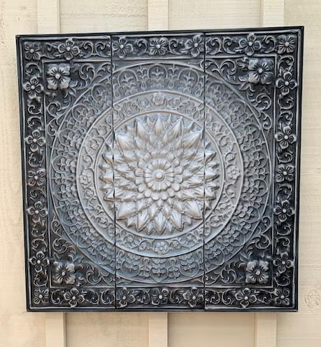 Wall Art Metal Flower