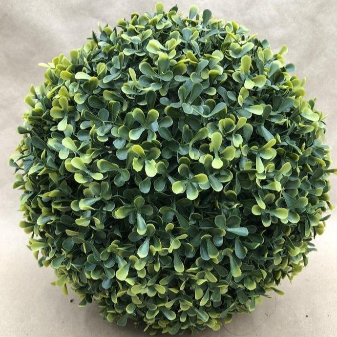 Faux 12 inch Boxwood sphere