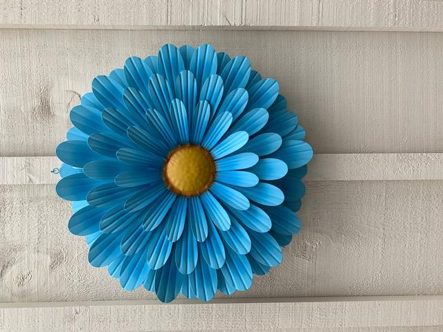 Wall Art Flower - Single Metal