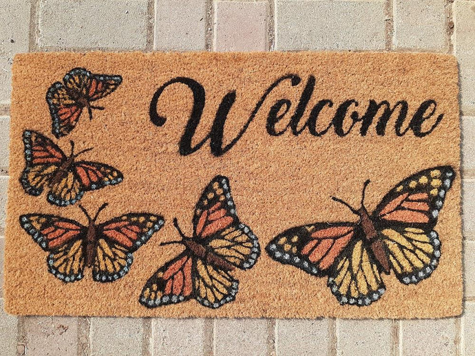 Door Mat Coco Fibre - Monarch Welcome