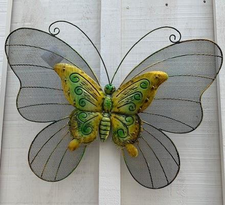 Metal Wall Art - Butterfly
