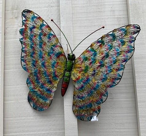 Colourful Butterfly Wall Art