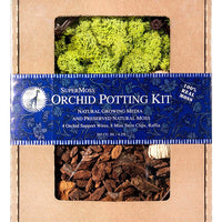 SuperMoss Orchid Potting Kit - Light Green