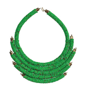Kanyoni  Beaded Necklace - KENDI AMANI
