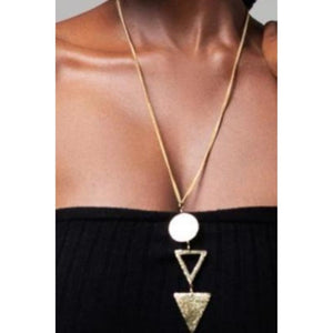 Makena Brass Necklace - KENDI AMANI