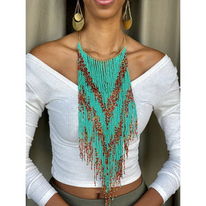Naliaka Beaded Necklace - KENDI AMANI