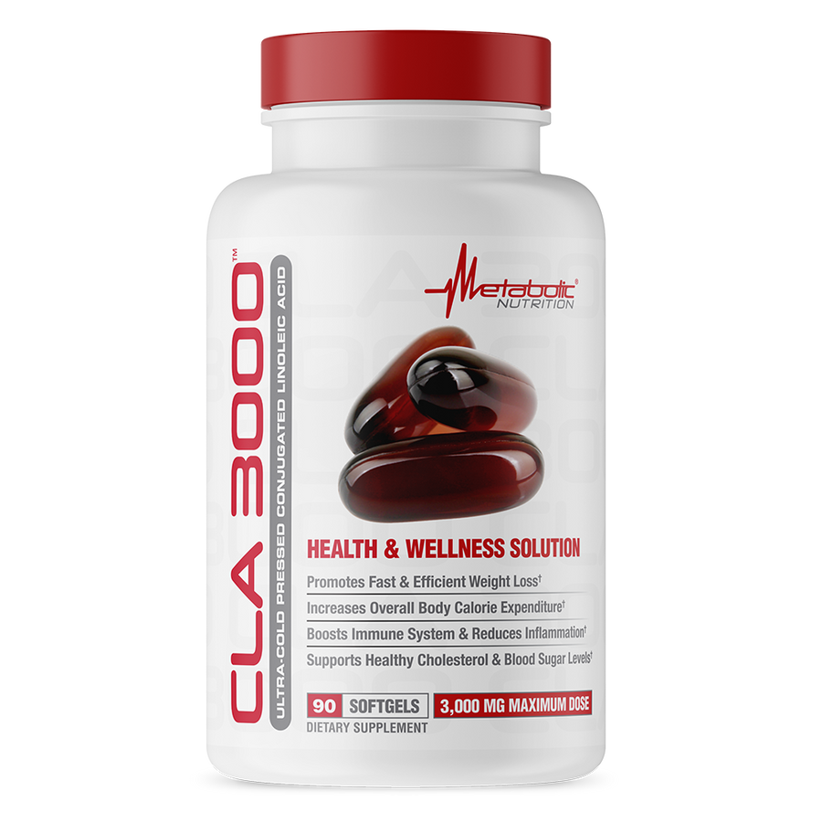 CLA 3000, 90 softgels. Ultra Cold Pressed Conjugated Linoleic Acid. Health and Wellness Solution.