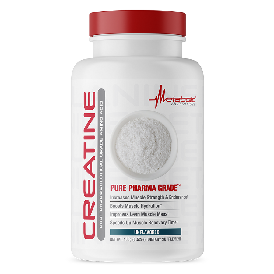 Creatine, 100 gram, unflavored. Pure Pharmaceutical Grade Amino Acid.