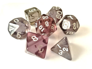 Drowskin Dice Set - Wiz Dice
