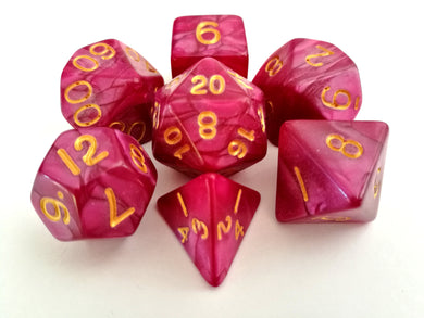 Abyssal Mist Dice Set - Wiz Dice