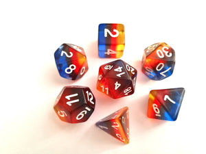 Burning Cloud Translucent Dice Set