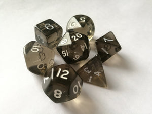 Smoke Gem Dice Set