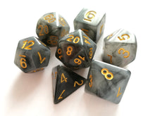 Black Jade Dice Set