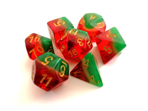 Watermelon Layered Fruity Dice Set
