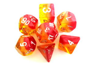 Passionfruit Layered Fruity Dice Set