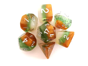 Kiwi Layered Fruity Dice Set