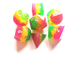 Rose Garden Layered Dice Set