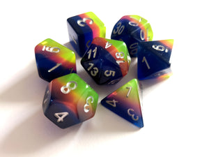 Sunset Translucent Dice Set