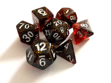 Blood Moon Galaxy Dice Set