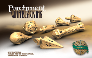 Parchment - Wizard Dice - Polyhero