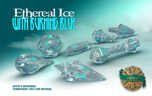 Ethereal Ice - Wizard Dice - Polyhero