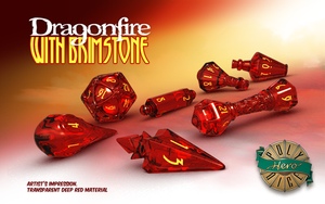 Dragonfire - Wizard Dice - Polyhero