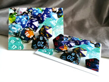 Blue D20's Greetings Card