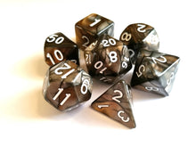 Steel/Bronze Dual Colour Dice Set