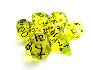 Boiled Bile Dice Set - Wiz Dice