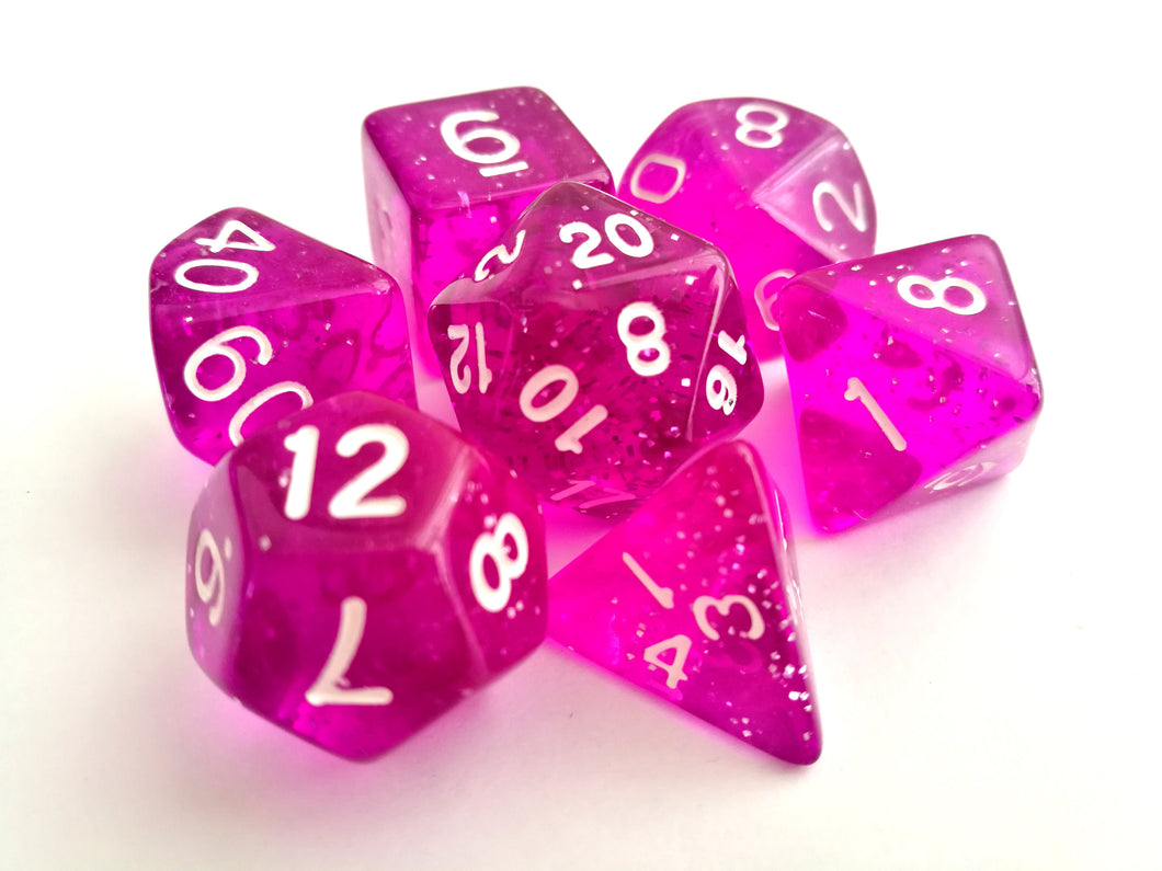 Arcane Aura Dice Set - Wiz Dice
