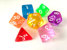 Mixed Bright Gem Dice Set