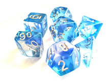 Icy Translucent Layered Dice Set
