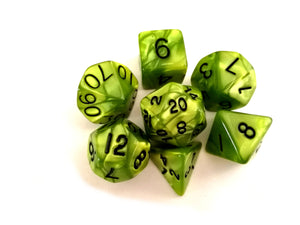 Swamp Ooze Dice Set - Wiz Dice