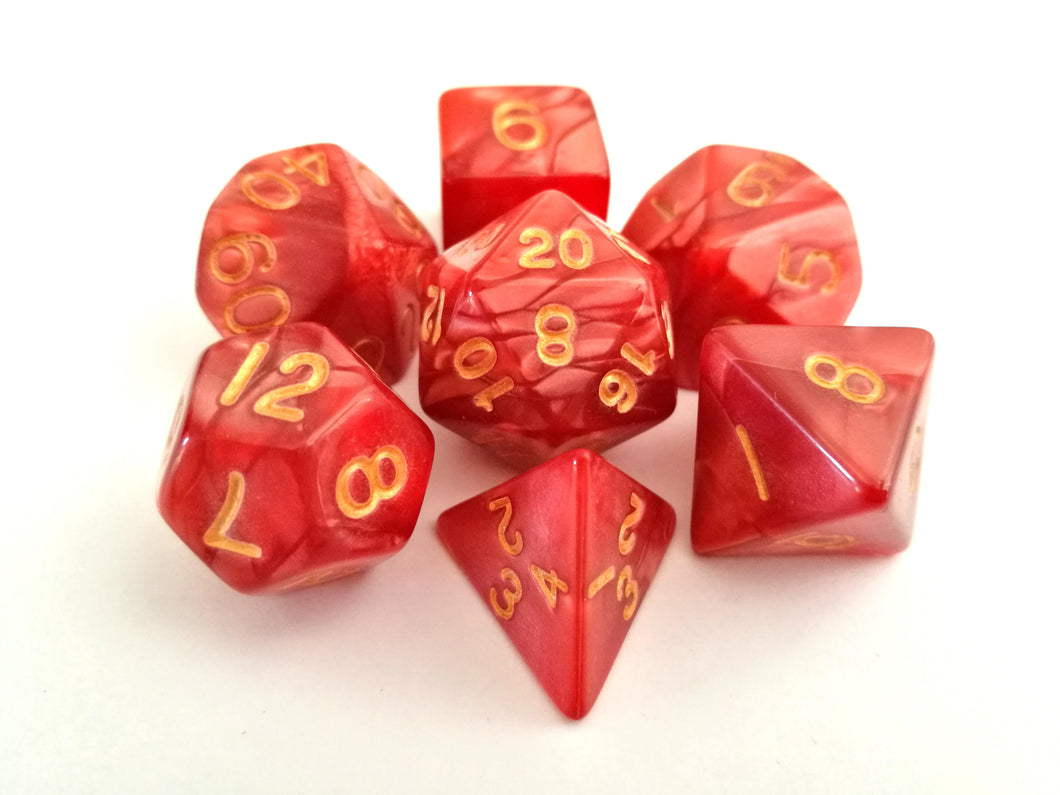 Dragon Scales Dice Set - Wiz Dice
