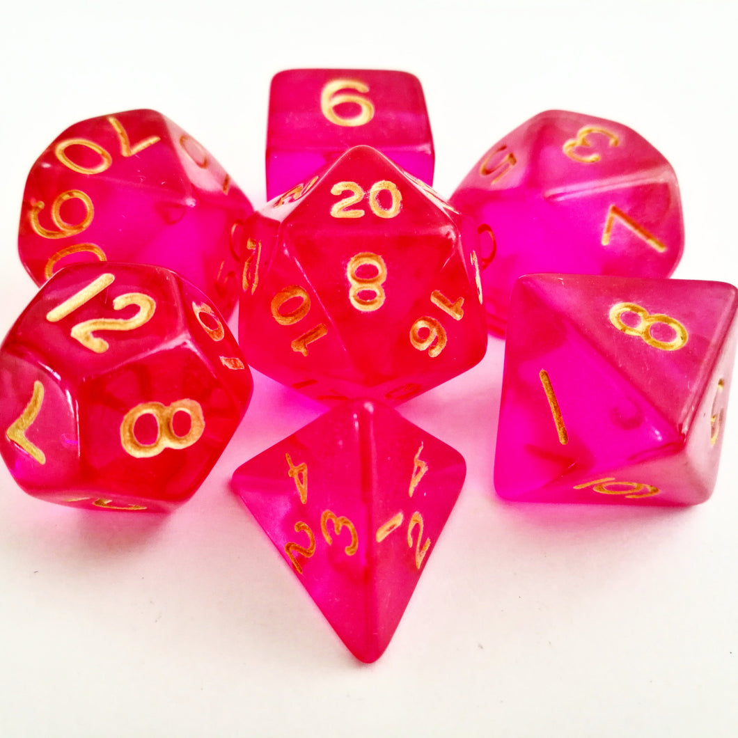 Faerie Fire Dice Set - Wiz Dice