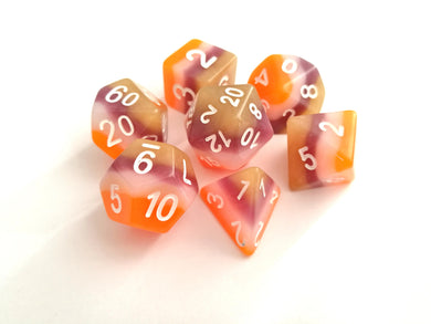 Desert Layered Dice Set