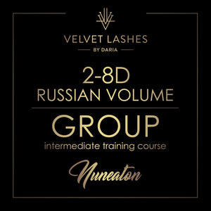 8th September 2-8d Russian Volume TRAINING COURSE IN NUNEATON (UK)