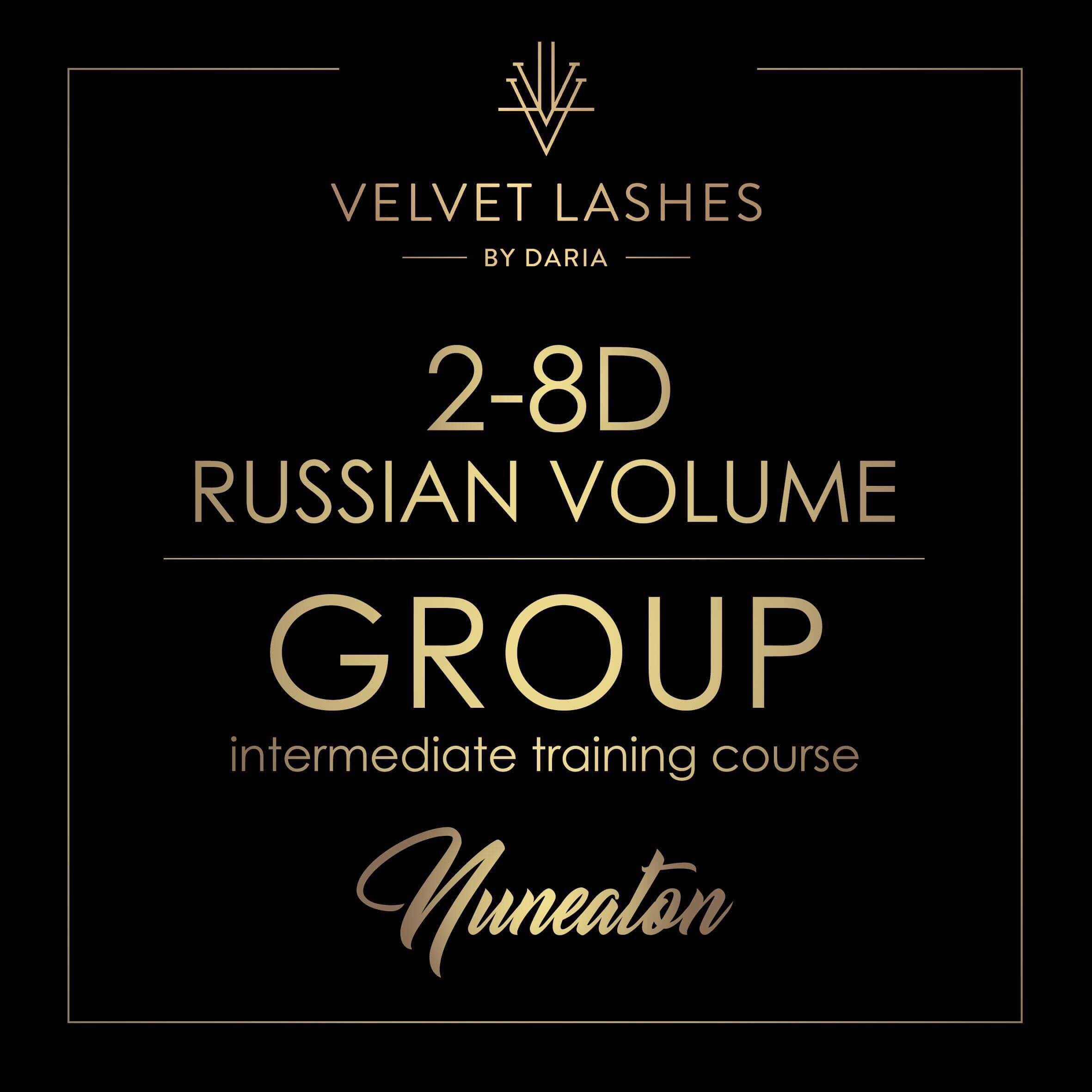 10th March 2-8d Russian Volume TRAINING COURSE IN NUNEATON (UK)