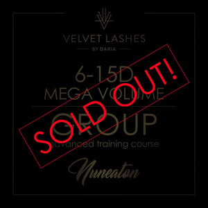 16th April MEGA VOLUME 6-15d TRAINING COURSE IN NUNEATON SOLD OUT!