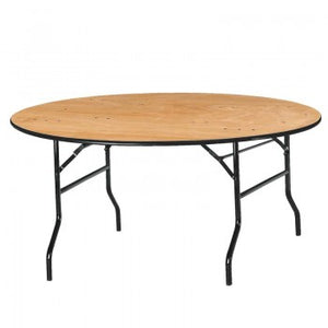 Table ronde pliante 186 cm diam