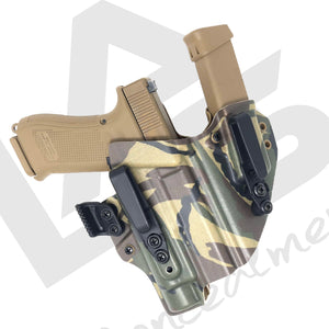 Glock 19x G19X Gen 5 Holster Mag AIWB best concealed carry holster Dutch Woodland Ronin 2.0