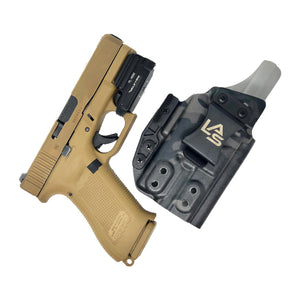 Glock 19x G19 Gen 5 Olight PL Mini Saya Multicam Black IWB Inside the Waistband light bear holster Supercam Black Nightstalker