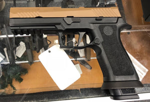SIG Sauer M17 on a P320 X-Five Frame