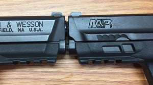 Smith & Wesson M&P 9mm vs M2.0 9mm