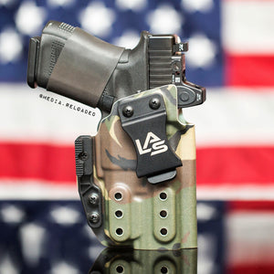 Saya AIWB IWB light bearing holster LAS Concealment