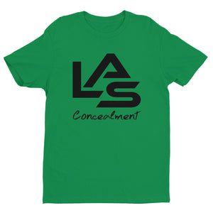 LAS T-shirt (Black Logo)