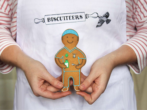 The Bisuciteers - Nurse Jolly Gingerbread - Gifts For Nurses