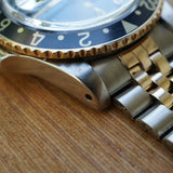 SOLD- 1973 Rolex GMT Two Tone 1675