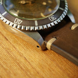 SOLD- 1961 Tudor Submariner 7928 Chapter Ring Tropical Dial