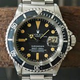 "SOLD -1979 Rolex Submariner 1680 ""Pumpkin"""